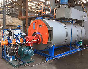 山西南耀集团 3吨冷凝常压热水万博下载官网